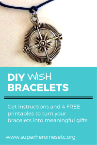 Learn how to make your own wish bracelets as gifts for friends and family! Download the FREE printables to make these gifts extra special.